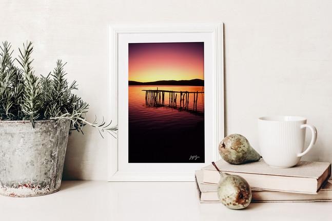 The Wharf Sunset