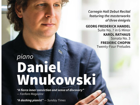 Pianist Wnukowski revives music of a neglected composer in impressive Carnegie debut