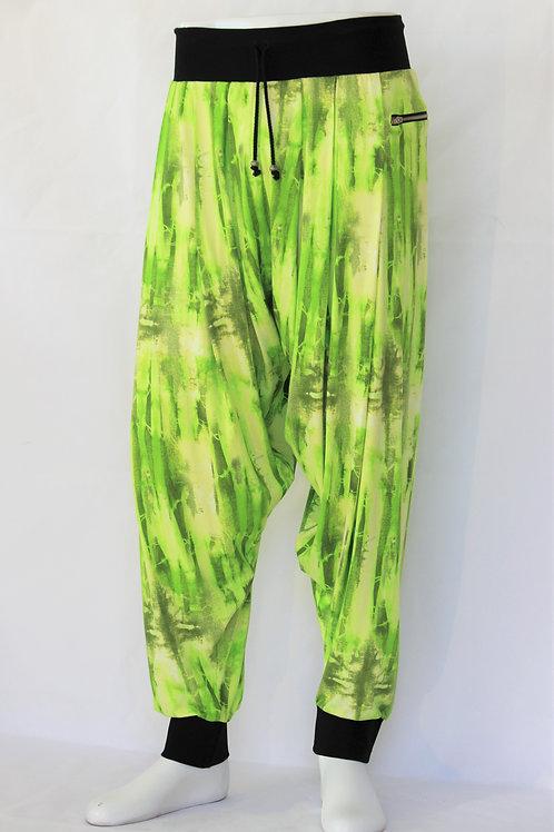 Neon Green Harem Pants