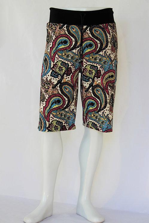 Paisley Casual Shorts