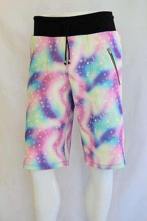 Tie Dye Casual Shorts
