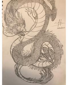 Ruler of the Sky, Artist: Trina Tran, 11th Grade, GHS