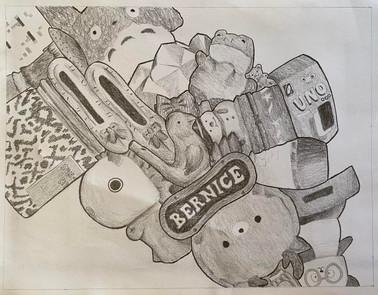 Artist: Bernice Li, 11th Grade, Gabrielino High School