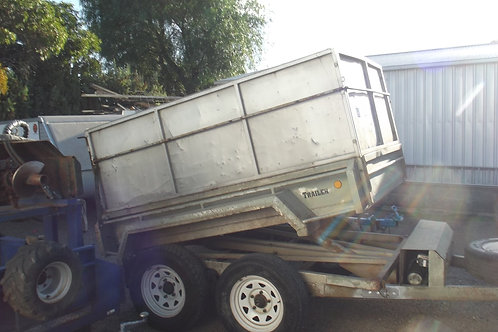 1 Day Hire 3 Ton Tipping Trailer High Sides