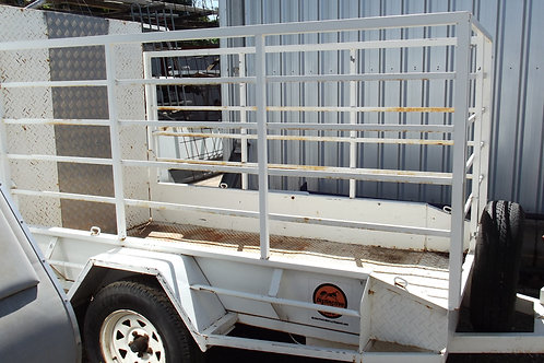 Cage Trailer with Ramp and winch Daily Hire