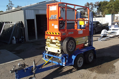 1 day hire  New JLG 1930  on trailer