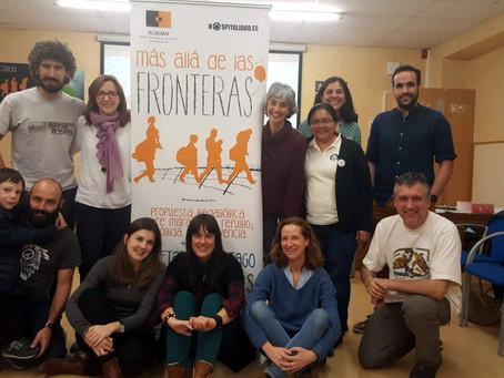 El Parlamento de Navarra abre sus puertas a defensoras de los Derechos Humanos de migrantes en Centr