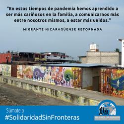 Migrante Nicaraguense Retornada 1 IG