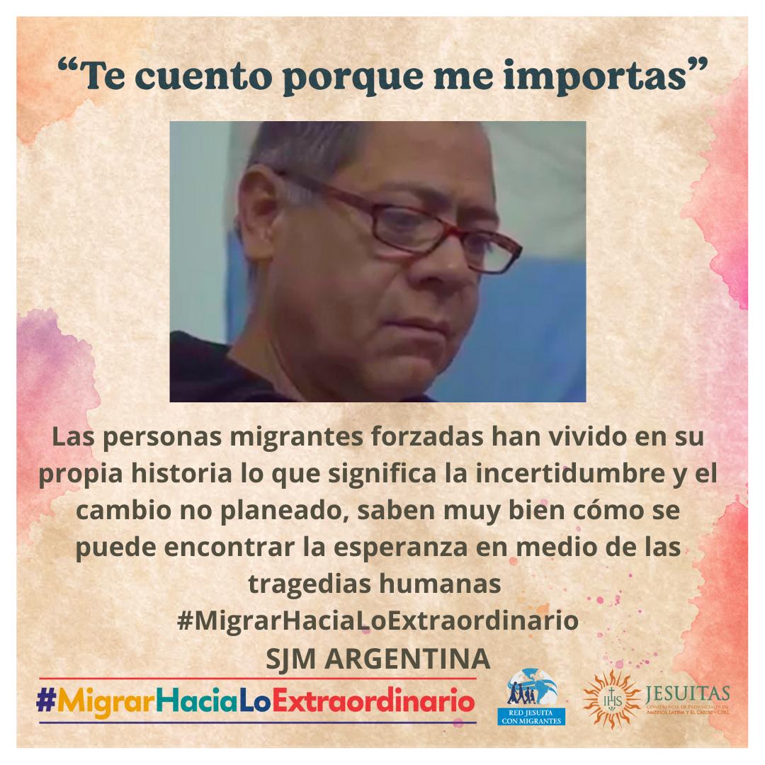 Compartimos el testimonio de Henry... Agradecemos a Juan Martín Torres por esta hermosa producción.