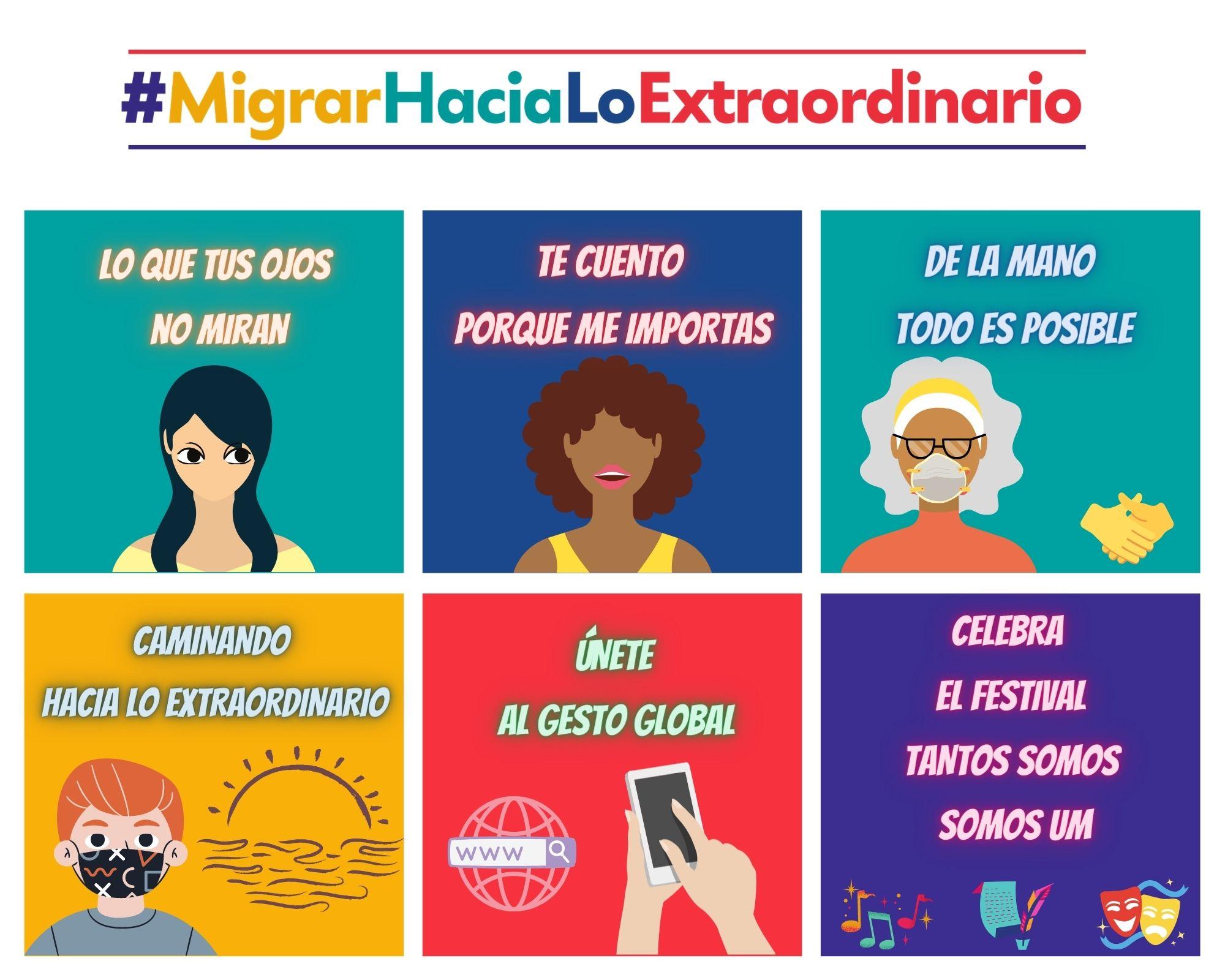 #MigrarHaciaLoExtraordinario