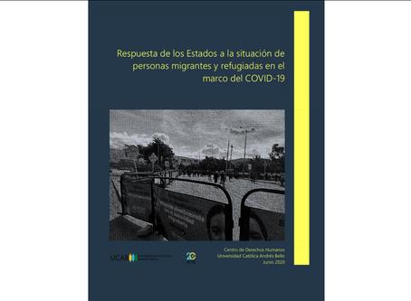 Necesidades y respuestas a personas migrantes y refugiadas de Venezuela. INFORME