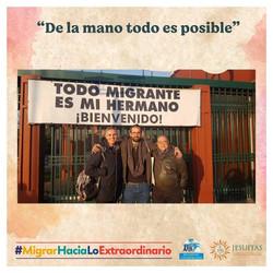 Alberto, Javi y Mauricio: de la mano todo es posible.