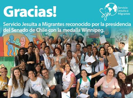 Con Migrantes en CHILE