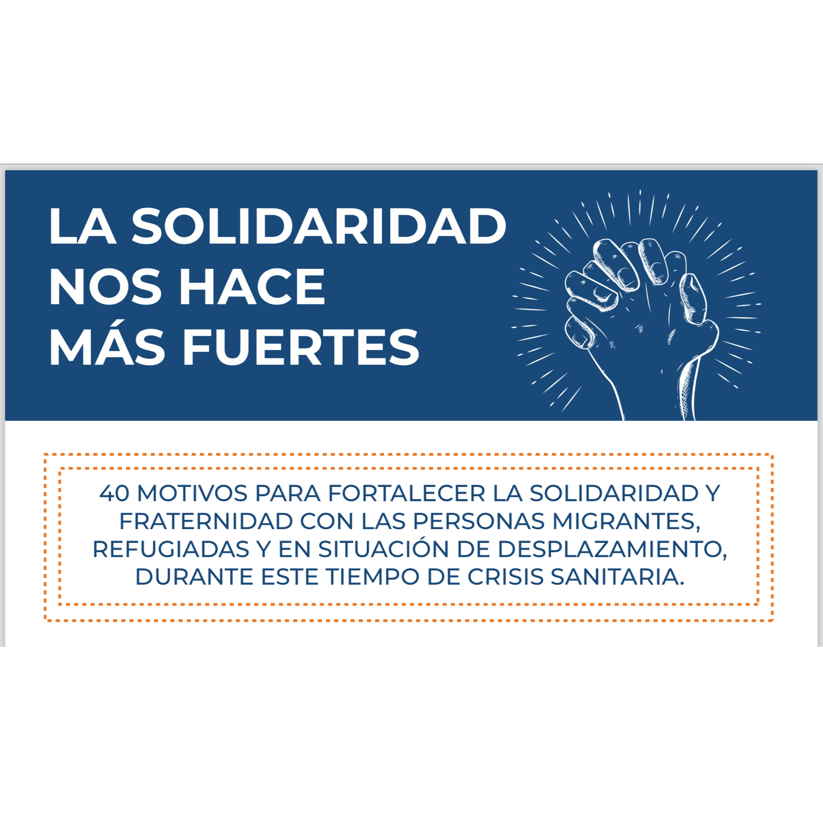 #MásSolidaridad
