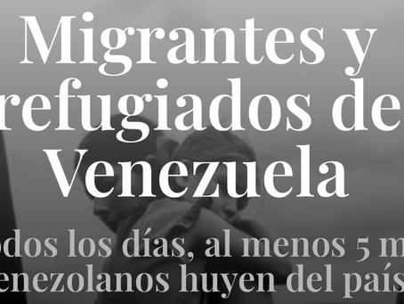 Migrantes y Refugiados de Venezuela: WEB.
