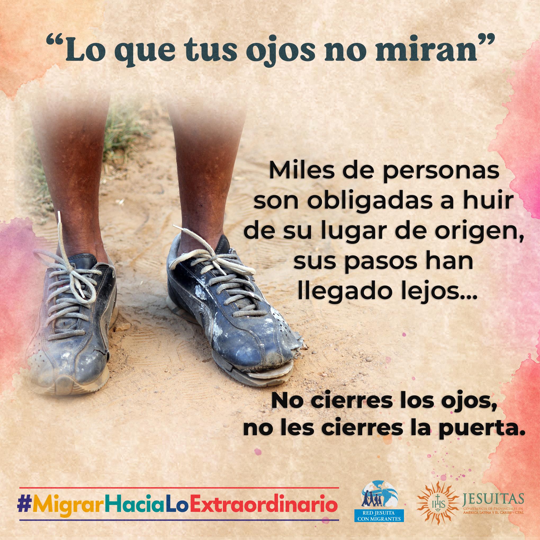 Mensaje desde México: no cierres los ojos a esta realidad.