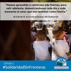 Migrante Nicaraguense Retornada 2 IG