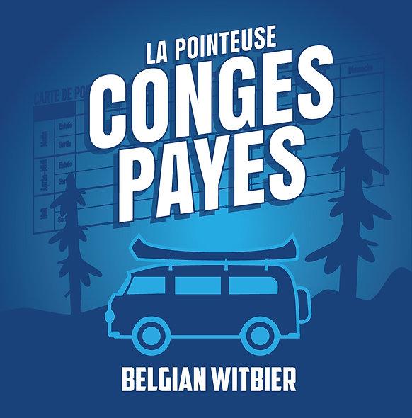 PACK 12 - Congés Payés Belgian Witbier