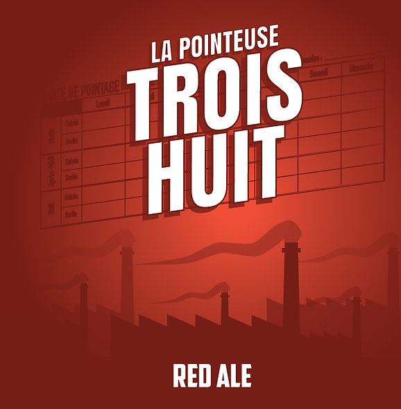 PACK 12 - Trois Huit Red Ale