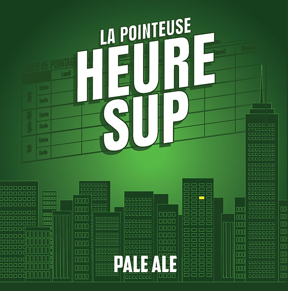 PACK 24 - Heure Sup Pale Ale Mosaic®
