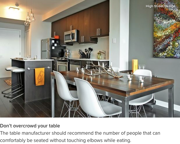Check out our feature on Houzz about Choosing the Perfect Dinning Table