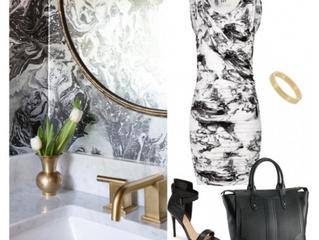Your Closet as Inspiration for Decor
