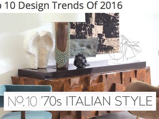 House & Home's 2016 Design Trends