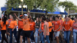 Orange fills downtown Georgetown for National Unity Day