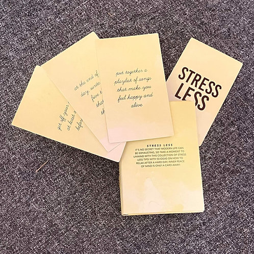 SELF-CARE IDEAS Card Pack
