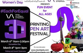 3D Printing Pen Festival
