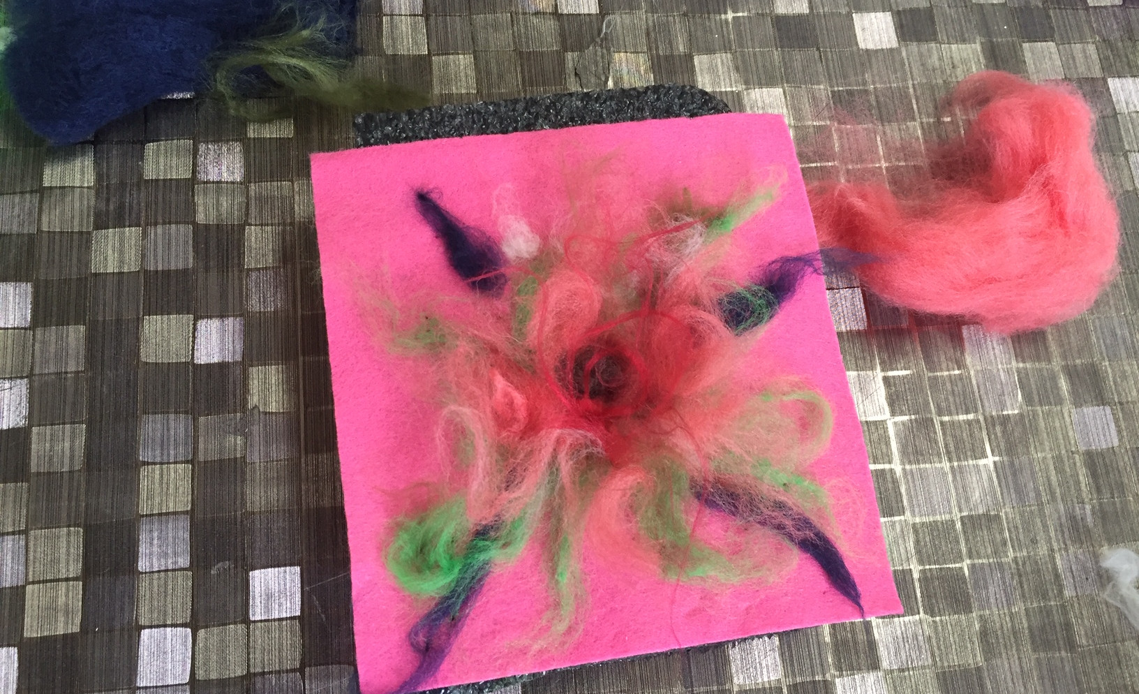 Healing Arts wool painting