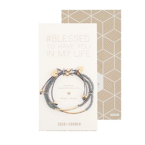 Friendship Bracelet Sets - Blessed To Have You In My Life