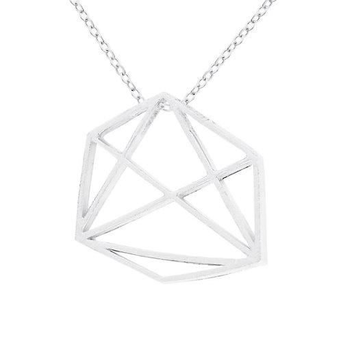 Prysm Emily Necklace Silver