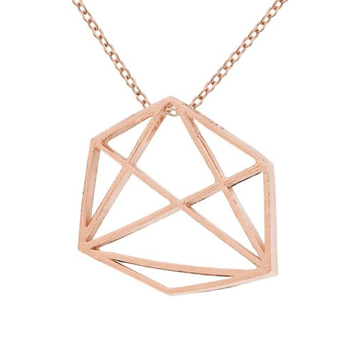 Prysm Emily Necklace Rose Gold