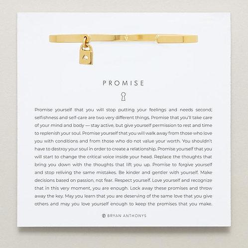 Promise Charm Cuff