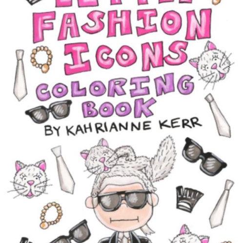 KAHRI Little fashion Icons Colouring Book