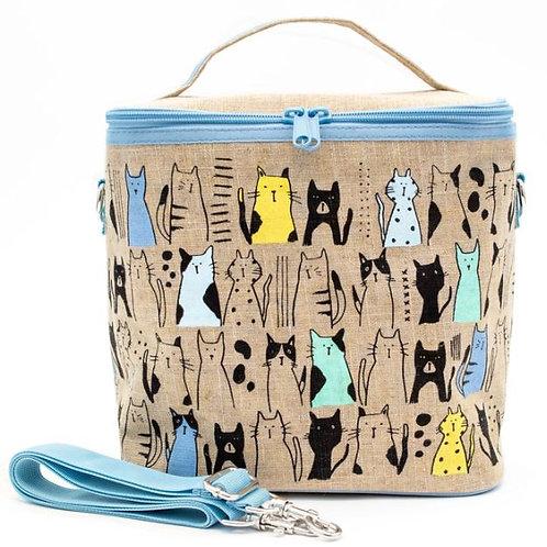 Curious Cats Large Cooler Bag