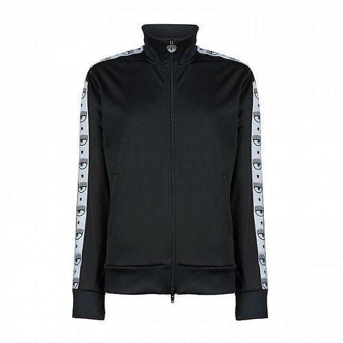 Chiara Ferragni Logomania Jacket-Blk