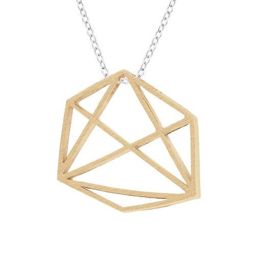Prysm Emily Necklace Gold