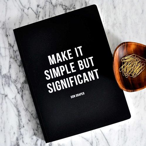 Make it Simple Journal