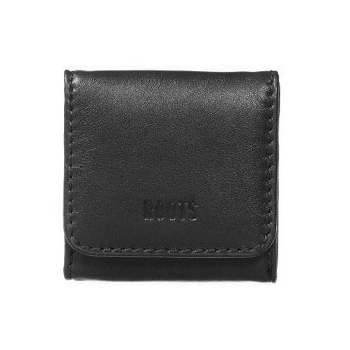 Roots Leather Square Shaped Coin Wallet