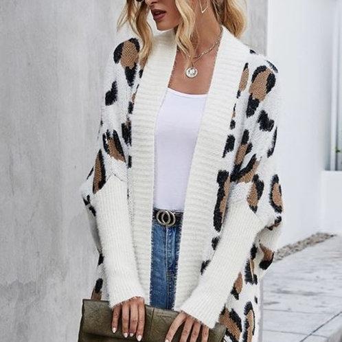 ELSEY Leopard Sweater