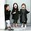 Thumbnail: Trucs Kids Black Poncho