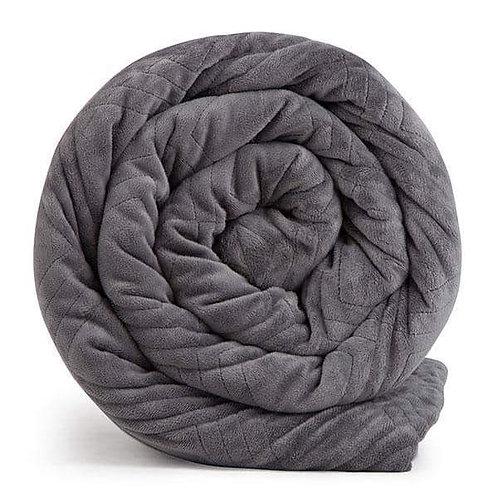 Hush Classic Blanket - Queen 20lb   Grey