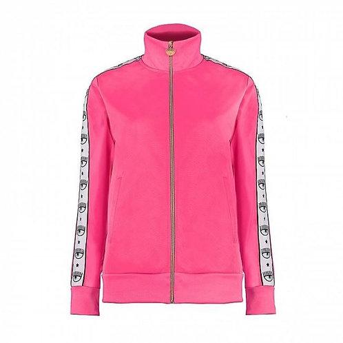 Chiara Ferragni Logomania Jacket -Pink