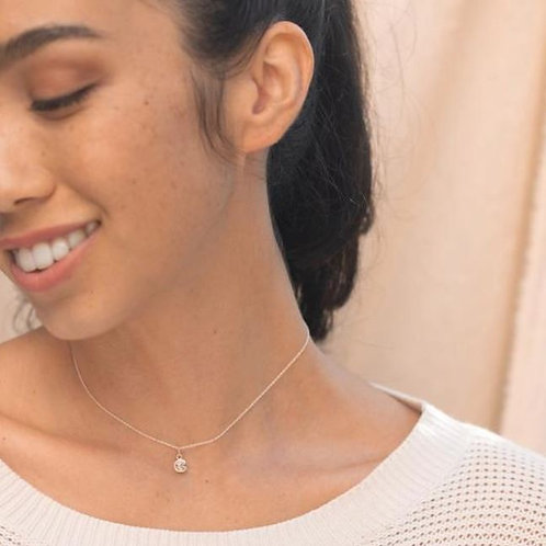 Fortune & Frame Super mini fortune cookie necklace
