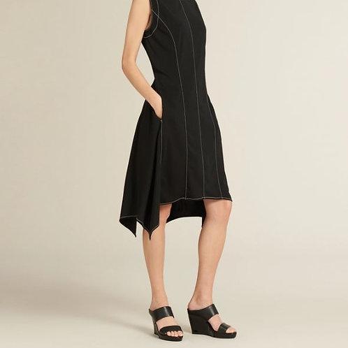 Donna Karan Sleeveless Asymmetrical