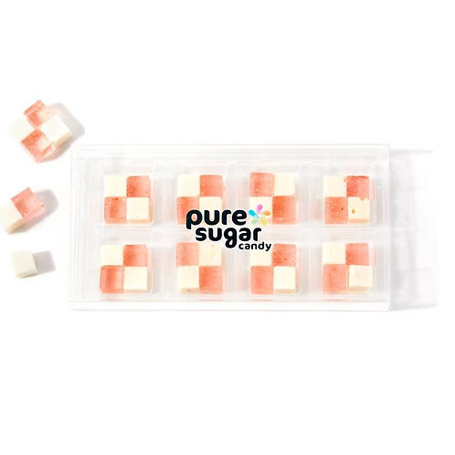 Strawberry and Cream - Hard Candy Cubes