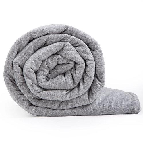 Hush Iced Blanket - Queen  Light Grey