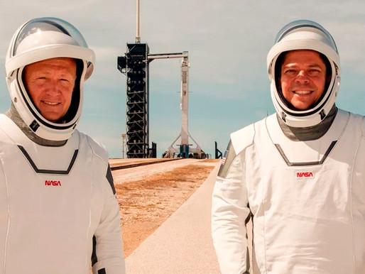 NASA: O lançamento tripulado do foguete Falcon 9 da Spacex